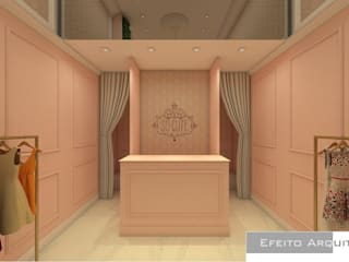 So Cute Lojas & Imóveis comerciais clássicos por Efeito Arquitetura Clássico