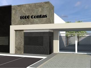 Escritório 1000 Contas Lojas & Imóveis comerciais modernos por Efeito Arquitetura Moderno