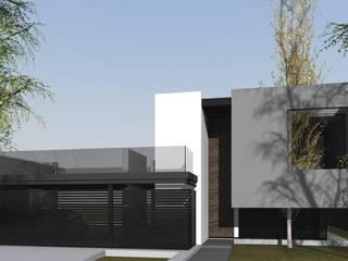 CASA AR de BM3 Arquitectos Minimalista