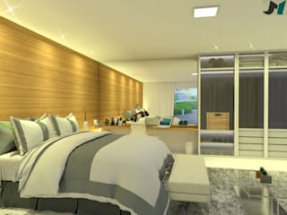 ITOARQUITETURA BedroomAccessories & decoration MDF Amber/Gold