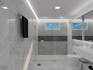 ITOARQUITETURA BathroomDecoration Marble White