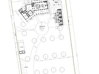 PLANO GENERAL: Casas de estilo  por AREA - arquitectura y construcción
