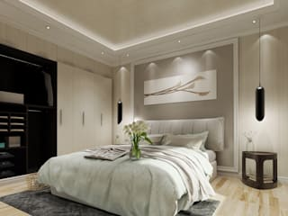 Wall Panels - eco friendly :  Bedroom by Arestia Design Lab Sdn Bhd