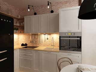 Femberg Architektura Wnętrz Kitchen White