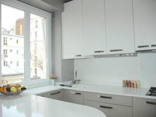Commerce - Paris XV - 108 m2 Locaux commerciaux & Magasin modernes par Desjoconception Moderne