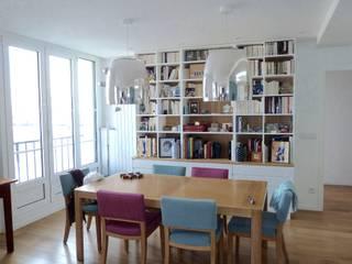 Félix Faure - ParisXV - 130 m2 Rénovation Locaux commerciaux & Magasin modernes par Desjoconception Moderne