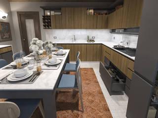 Rifacimento Cucina a Mantova: Cucina attrezzata in stile  di studiosagitair