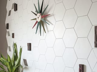 SCENIC WALL DECORATION di ceramica senio Scandinavo