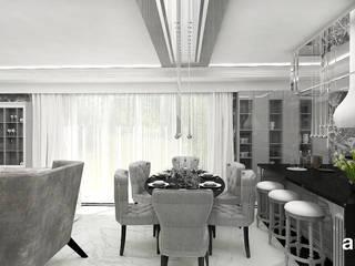 ARTDESIGN architektura wnętrz Comedores de estilo clásico