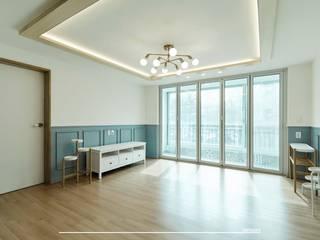 Living room by 덴보드, Modern