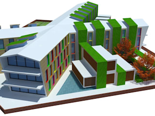 Alpine Convent School:   by Designasm Studio