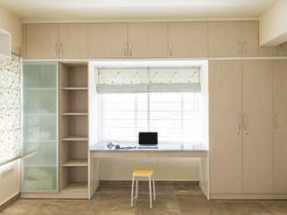 Anil DP Modern study/office by Designasm Studio Modern