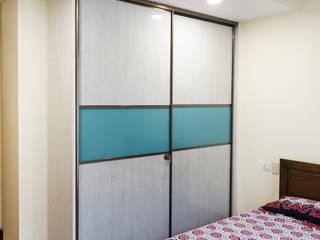 Anna varghese Modern style bedroom by Designasm Studio Modern