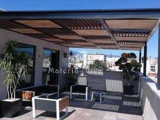Terrazas de estilo  de Materia Viva S.A. de C.V., Moderno