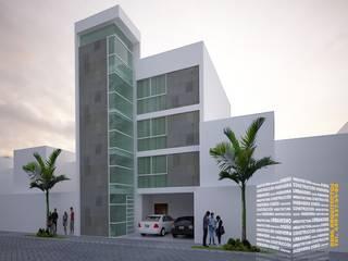 Многоквартирные дома в . Автор – HHRG ARQUITECTOS, Модерн