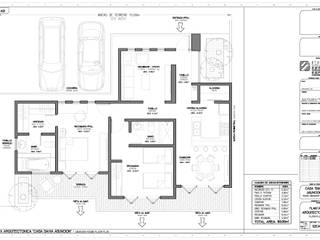 Planta arquitectónica de STUDIO2 arquitectos Colonial