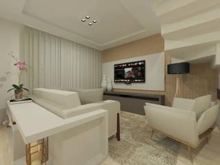 Sobrado Salas de estar modernas por INOVAT Arquitetura e interiores Moderno