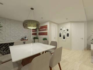 Sobrado Salas de jantar modernas por INOVAT Arquitetura e interiores Moderno