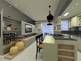 Apartamento por INOVAT Arquitetura e interiores Moderno
