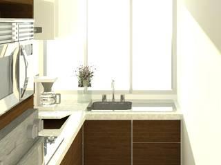 廚房 by Perfil Arquitectónico,