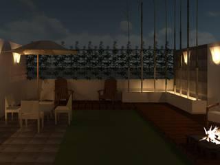 Balcones y terrazas de estilo moderno de Perfil Arquitectónico Moderno