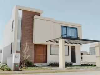 Modelo Yatzíl: Casas ecológicas de estilo  por iQbit, SA de CV