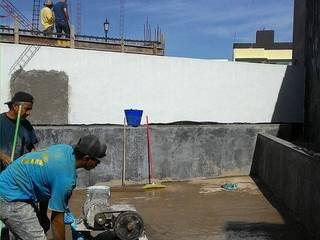 M908 / Terraza : Terrazas de estilo  por RM2 / Taller de arquitectura