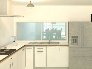 Cocinas modernas de Perfil Arquitectónico Moderno