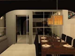 餐廳 by Perfil Arquitectónico,