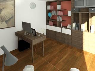 Estudio: Estudios y oficinas de estilo  por Perfil Arquitectónico