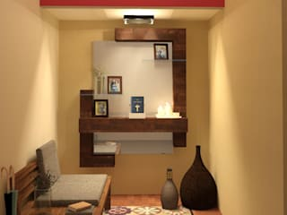 Recibidor: Pasillos y recibidores de estilo  por Perfil Arquitectónico