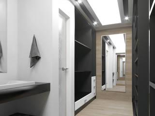 CASA RSP Vestidores minimalistas de ARQSU, Arquitectura e Interiorismo Minimalista