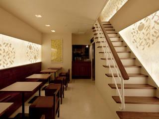 nana's green tea 自由が丘店 モダンな商業空間 の 株式会社KAMITOPEN一級建築士事務所 モダン