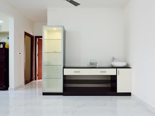 Apoorva Vijesh Aratt requiza Modern bathroom by Designasm Studio Modern