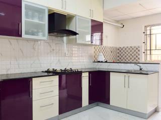Apoorva Vijesh Aratt requiza Modern kitchen by Designasm Studio Modern