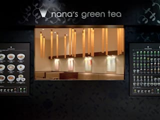 nana's green tea 名古屋キリオ店 モダンな商業空間 の 株式会社KAMITOPEN一級建築士事務所 モダン