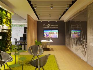 Центр инноваций Schneider Electric. Duplex Apartment: Офисные помещения в . Автор – Duplex Apartment Интерьерные решения
