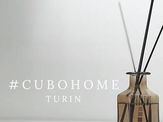 CorsoPeschiera_18 Pareti & Pavimenti in stile moderno di cubohome Moderno