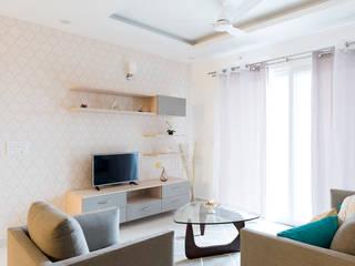 Durga Petals 301:  Living room by Designasm Studio