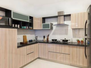 Durga Petals 302 Modern kitchen by Designasm Studio Modern