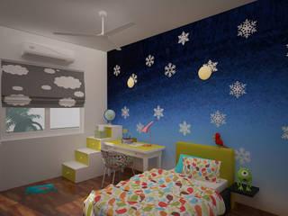 Gurumurthy Residence Modern nursery/kids room by Designasm Studio Modern