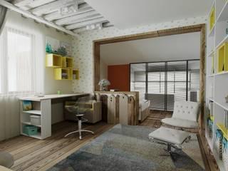 Интерьер детской комнаты г.Ставрополь Детская комната в стиле лофт от Студия дизайна Натали Хованской Лофт