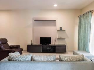 Keerthi residence Modern media room by Designasm Studio Modern