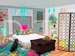 Dormitorio estilo Boho de Diseña tu interior