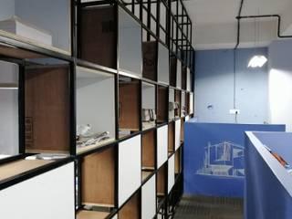 Neu Integrals:  Office buildings by Designasm Studio