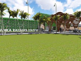 Yelahanka Railway Station:   by Designasm Studio