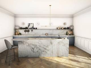 Cozinhas  por YNOT STUDIO by Jaime de Pablo-Romero