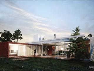 Casa Mirador al Cerro: Casas de estilo  por síncresis arquitectos