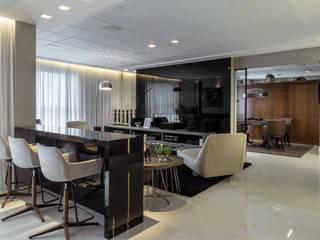 Living room by Rosset Arquitetura, Modern