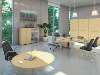 Diseño de Oficina Quito- Ecuador de Gabriela Afonso Moderno